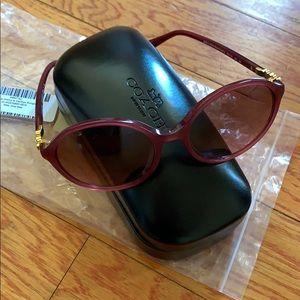 Coach Black Cherry Sunglasses